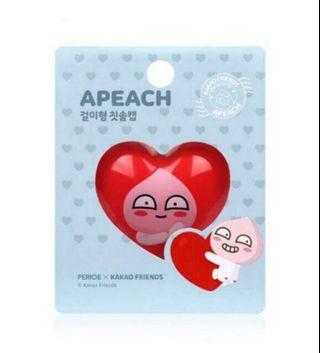 [現貨] 韓國 kakao friends APEACH 吸盤牙刷架