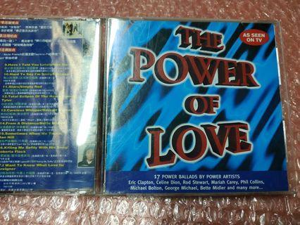 🚚 (THE POWEROF LOVE真愛典藏情歌精選 正版CD)