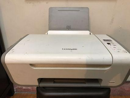 🚚 lexmark 掃描印表機X2650