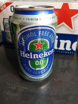 Heineken 0.0 Zero Alcohol Beer Can 6 X 330ml