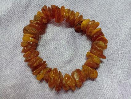 Raw baltic amber