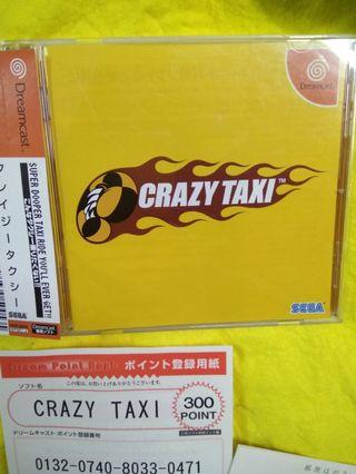 Dreamcast Game Crazy Taxi
