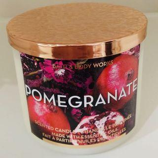 Bath & Body Works Candle - Pomegranate 3 wicks candle