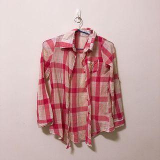 🚚 格子薄襯衫