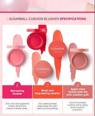 🚚 Aritaum Sugarball Cushion Cheek Color #4