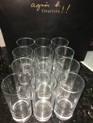 玻璃水杯 $100 for 12 Water Glass