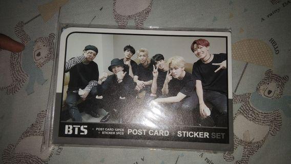 POST CARD BTS