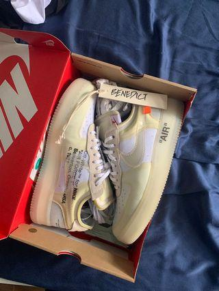 🚚 Nike Off White Air Force One