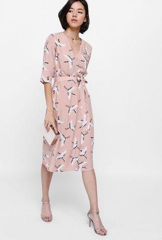Love Bonito wrap Dress