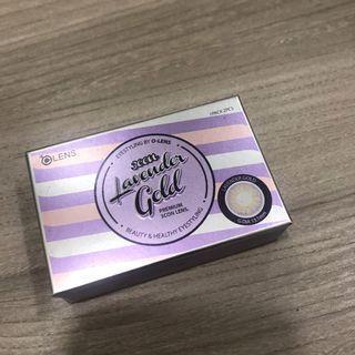 🚚 olens 月拋 375度 韓國帶回 3con Lavender Gold