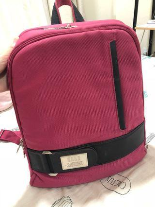 Elle original laptop back pack (pink)