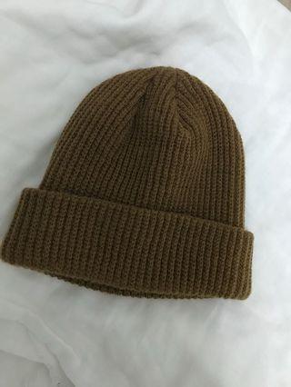 🚚 韓國 咖啡色毛帽
