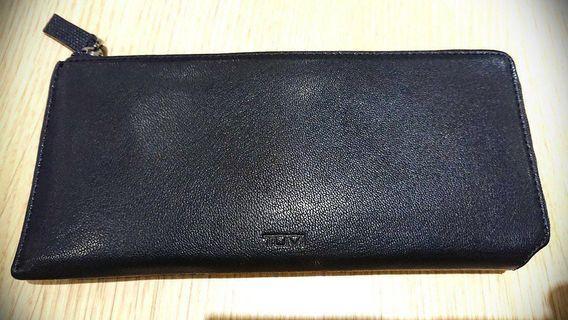 Authentic Tumi Zip Tech Wallet