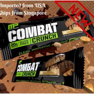 Combat Crunch-All flavours