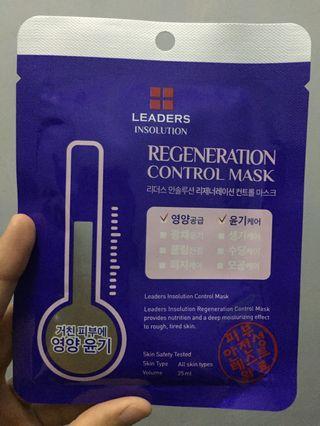 Leaders Insolution Regeneration Control Mask