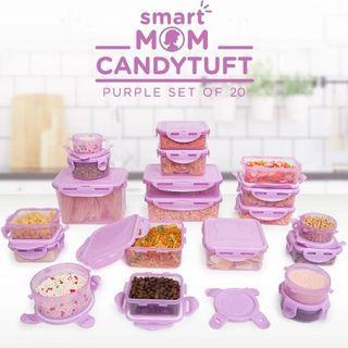 Dusdusan Smart Mom Candytuft Purple Set Of 20