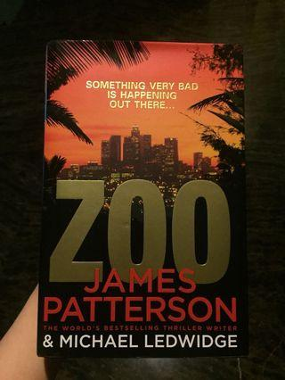 Zoo by James Patterson HARDCOVER