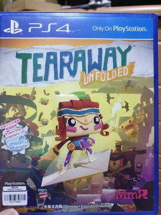 🚚 Tearaway unfolded ps4