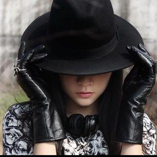 Beautifully Black Fedora Hat