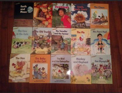 🚚 Set of 15 Reading Bee kindergarten books
