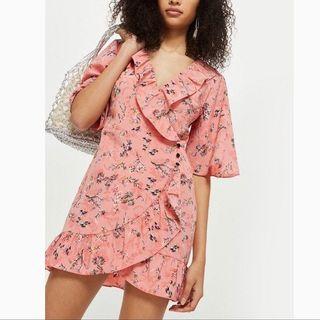 Topshop Wrap Dress