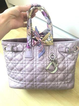 🚚 Authentic Dior panarea tote bag hand bag small size