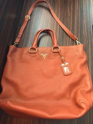 Authentic big Prada bag