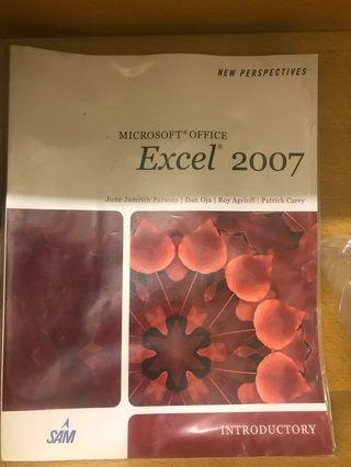 New Perspective Microsoft Office Excel 2007 Introductory
