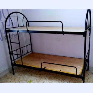 Single Double Deck metal bed frame(6pcs)...