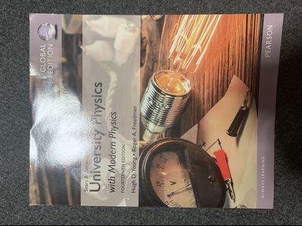 🚚 Sears & Zemansky's University Physics with Modern Physics Fourteenth Edition