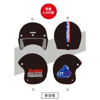 X LARGE限量安全帽