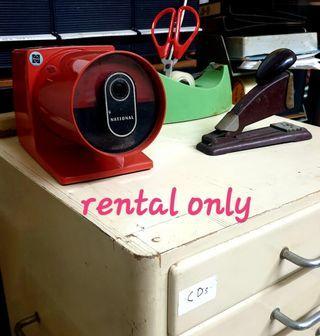Vintage files / antique stationary (rental only)