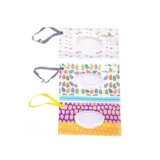 [PO] Baby Wet Wipes Carrying Pouch Bag Case Holder