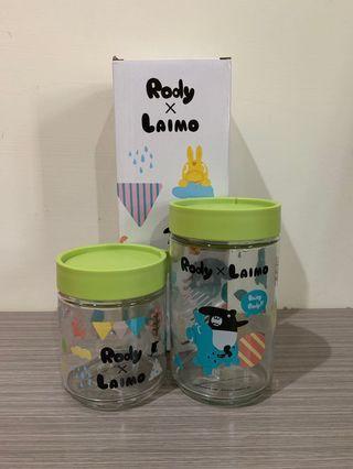 🚚 Rody x Laimo 玻璃收納罐組