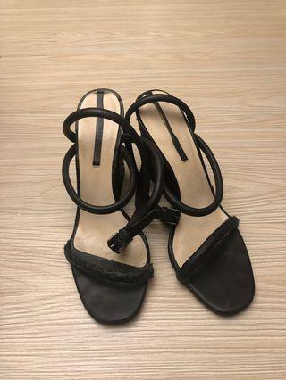 Zara 楔型鞋