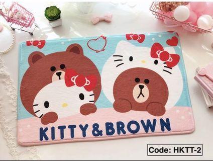 🚚 Cute floor mat 60x40cm