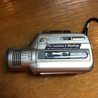 🚚 Sony micro casette recorder
