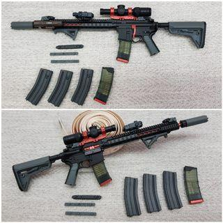 [4x Free Grenade]1/6 M4 Rifle loose from Easy & Simple[phicen / TBLeague / Hot Toys / Kitbash / Diorama / Weapon / Gun / Sniper]