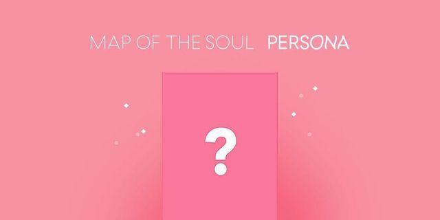 BTS MAP OF SOUL PERSONA ALBUM