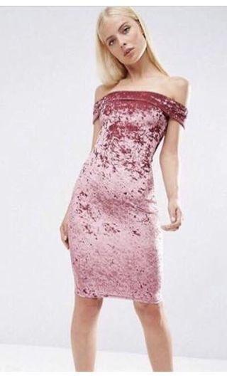 HIRING pink dress