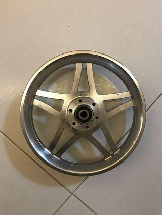 12 Inch rim for fiido or any scooter. Chrome