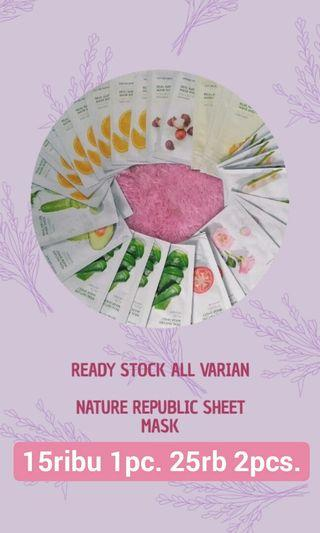 Nature Republic Sheet Mask Original
