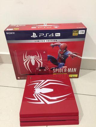 PS4 PRO 1TB SPIDERMAN