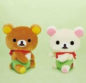 日本 san-x拉拉熊坐姿幸運草