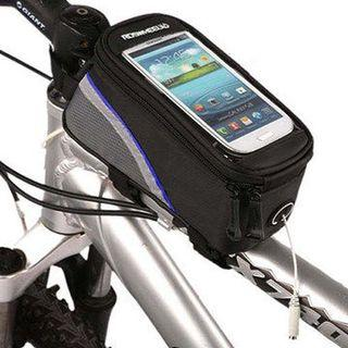 Bicycle stem pouch