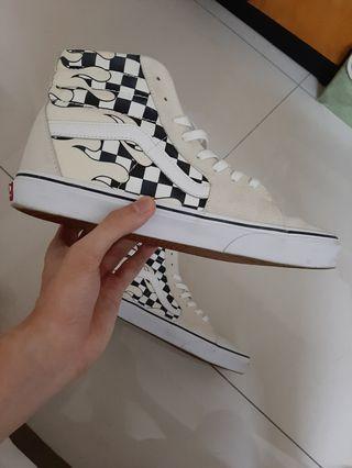 Vans Flame Checkerboard Sk-8 Hi