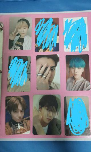 🚚 [WTS] SVT BTS EXO OFFICIAL PHOTOCARDS