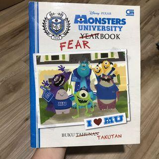 Buku cerita anak MONSTER UNIVERSITY. Berbahasa Indonesia. Isi 61 halaman