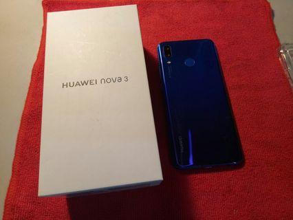 HUAWEI nova3 6GB 128GB海報機