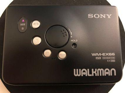 Sony Walkman WM-EX66 made in Japan